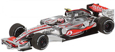 "McLaren MP4/23 ""Showcar"" nº 23 Heikki Kovalainen (2008) Minichamps 1/43"