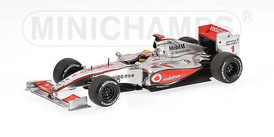 """McLaren MP4/24 """"Show-car"""" Lewis Hamilton (2009) Minichamps 1/43"""