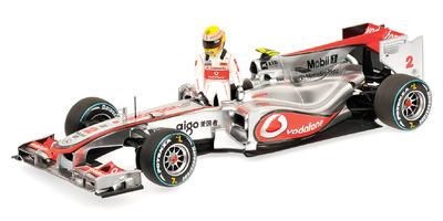 """McLaren MP4/25 """"GP. Canadá"""" nº 2 Lewis Hamilton (2010) Minichamps 1/18"""