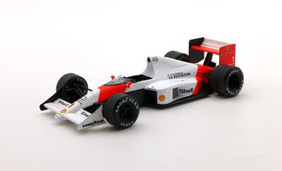 """McLaren MP4/5 """"1º GP Mónaco"""" nº 1 Ayrton Senna (1989) 1/43"""