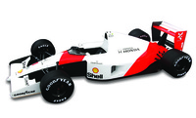 "McLaren MP4/6 ""2º GP. Japón"" nº 1 Ayrton Senna (1991) True Scale Models 1:43"