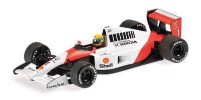 McLaren MP4/6 nº 1 Ayrton Senna (1991) Minichamps 1:43