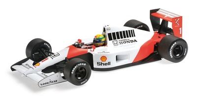McLaren MP4/6 nº 1 Ayrton Senna (1991) Minichamps 1/18