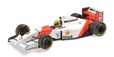 McLaren MP4/8 nº 8 Ayrton Senna (1993) Minichamps 1/18