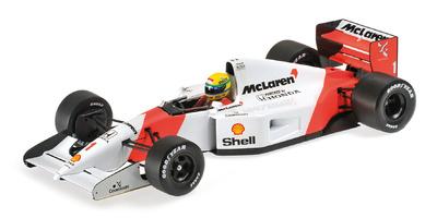 Mclaren MP4-7 nº 1 Ayrton Senna (1992) Minichamps 1:18