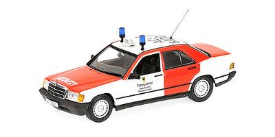 """Mercedes 190E """"Notzart-Feuerwehr Aachen"""" -W201- (1988) Minichamps 1/43"""