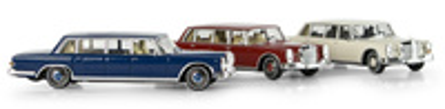 Mercedes 600 Pullman -W100- (1963) Brekina 1/87