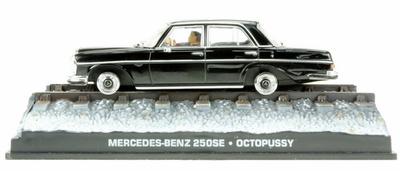 "Mercedes Benz 250 SE -W108- (1965) James Bond ""Octopussy"" Fabbri 1/43 Entrega 23"