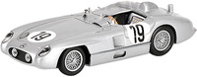 "Mercedes Benz 300 SLR ""24 h Le Mans"" nº 19 Juan Manuel Fangio (1955) Minichamps 1/43"