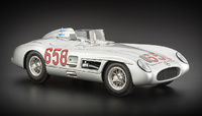 "Mercedes Benz 300 SLR ""Mille Miglia"" nº 658 Juan Manuel Fangio -W196- (1955) CMC 1:18"
