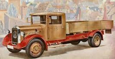 Mercedes Benz LO 2750 caja abierta (1934) CMC 1:18