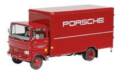 "Mercedes Benz LP608 ""Porsche"" Schuco 1/43"