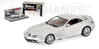 """Mercedes Benz McLaren SLR """"Top Gear"""" Minichamps 1/43"""