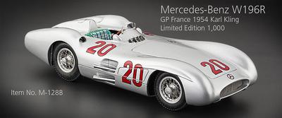 """Mercedes Benz W196R """"GP. Francia"""" nº 20 Karl Klin (1957) CMC 1:18"""