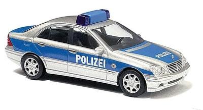 """Mercedes Clase C -W203- Policía """"Berlin"""" Busch 1/87"""