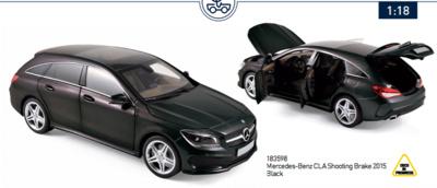 Mercedes Clase CLA Shooting Brake (2015) Norev 1:18