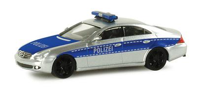 """Mercedes Clase CLS """"Polizei"""" -W219- (2004) Herpa 1/87"""