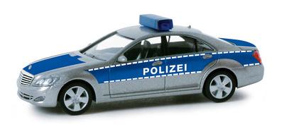 """Mercedes Clase S -W221- """"Polizei Rheinl"""" (2006) Herpa 1/87"""