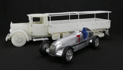 Mercedes LO 2750 + Mercedes W25 T-car (1934-38) CMC 1:18