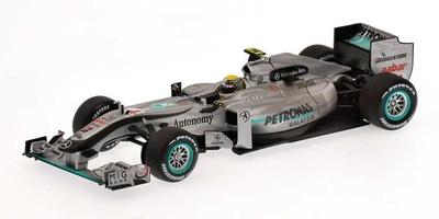 """Mercedes MGP W01 """"GP. Malasia"""" nº 4 Nico Rosberg (2010) Minichamps 1/43"""