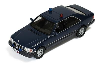 Mercedes S600 -W140- Blindado Presidencia Rusa (1993) Ixo 1/43
