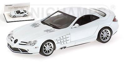 "Mercedes SLR McLaren (2004) ""White Edition"" Minichamps 1/43"