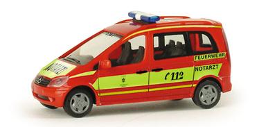 "Mercedes Vaneo MZF ""Munich fire department"" (2002) Herpa 047937 1/87"