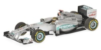"Mercedes W02 ""GP. Bélgica"" Michael Schumacher (2011) Minichamps 1:43"