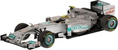 Mercedes W02 nº 8 Nico Rosberg (2011) Minichamps 1/43