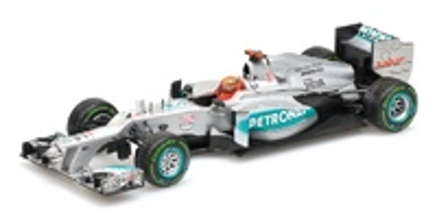 "Mercedes W03 ""Última Carrera"" ""GP. Brasil"" nº 7 Michael Schumacher (2012) Minichamps 1:43"