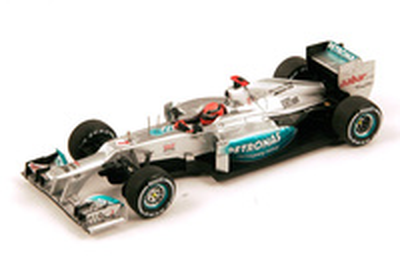 "Mercedes W03 ""GP. Brasil"" nº 7 Michael Schumacher (2012) Spark 1/43"