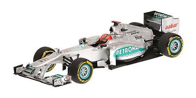 """Mercedes W03 """"Showcar"""" nº 8 Nico Rosberg (2012) Minichamps 1/43"""