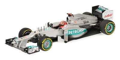 Mercedes W03 nº 7 Michael Schumacher (2012) Minichamps 1/43