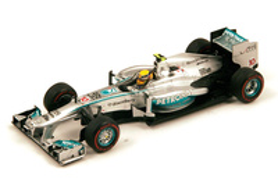 "Mercedes W04 ""GP. Australia"" nº 10 Lewis Hamilton (2013) Spark 1:43"