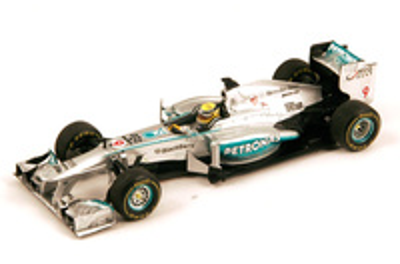 """Mercedes W04 """"GP. Australia"""" nº 9 Nico Rosberg (2013) Spark 1:43"""