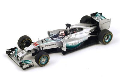 "Mercedes W05 ""1º GP. China"" nº 44 Lewis Hamilton (2014) Spark S3088 1:43"