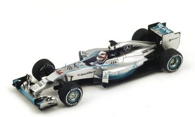 "Mercedes W05 ""1º GP. Italia"" 2014 nº 44 Lewis Hamilton (2014) Spark S3141 1:43"