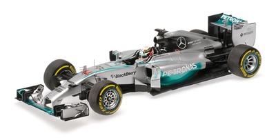"Mercedes W05 ""GP. Abu Dhabi"" nº 44 Lewis Hamilton (2014) Minichamps 1:18"