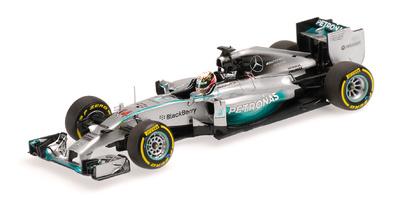 "Mercedes W05 ""GP. Abu Dhabi"" nº 44 Lewis Hamilton (2014) Minichamps 1:43"