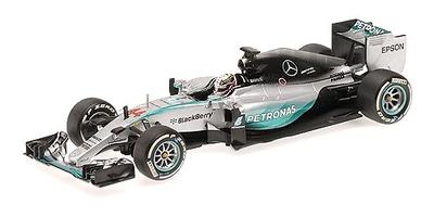 """Mercedes W06 """"1º GP. Australia""""  nº 44 Lewis Hamilton (2015) Minichamps 1:43"""
