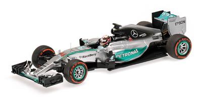 """Mercedes W06 """"1º GP. Japón"""" Lewis Hamilton (2015)  Minichamps 1:43"""