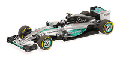 "Mercedes W06 ""1º GP. Mónaco"" nº 6 Nico Rosberg (2015) Minichamps 1:43"