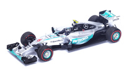 "Mercedes W06 ""1º GP. Mónaco"" nº 6 Nico Rosberg (2015) Spark 1:43"