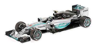 """Mercedes W06  """"2º GP. Australia"""" nº 6 Nico Rosberg (2015) Minichamps 1:18"""
