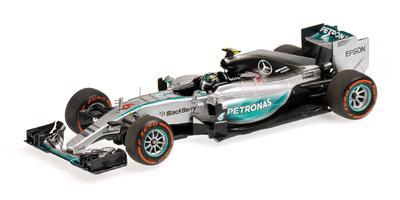 """Mercedes W06 """"GP. Japón"""" nº 6 Nico Rosberg (2015) Minichamps 1:43"""