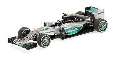 "Mercedes W06 ""GP. Malasia"" nº 6 Nico Rosberg (2015) Minichamps 1:43"