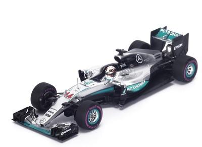 "Mercedes W07 ""GP. Mónaco"" n°44 Lewis Hamilton (2016) Spark 1:43"