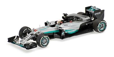 Mercedes W07 nº 44 Lewis Hamilton (2016) Minichamps 1:43
