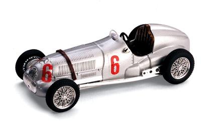 Mercedes W125 nº 6 (1937) Brumm 1/43