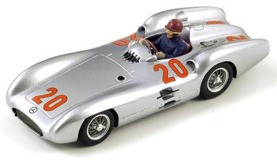 "Mercedes W196 ""GP. Francia"" nº 20 Karl Kling (1954) Spark 1/43"